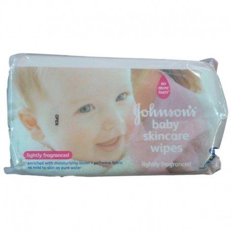 Johnson's Baby Wipes 80 Pcs