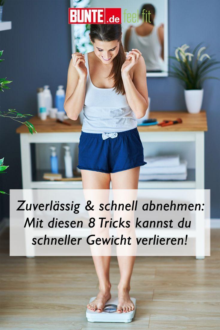 Zuverlässig und schnell abnehmen: Mit diesen 8 Tricks kannst du schneller Gewicht verlieren Mit dies...