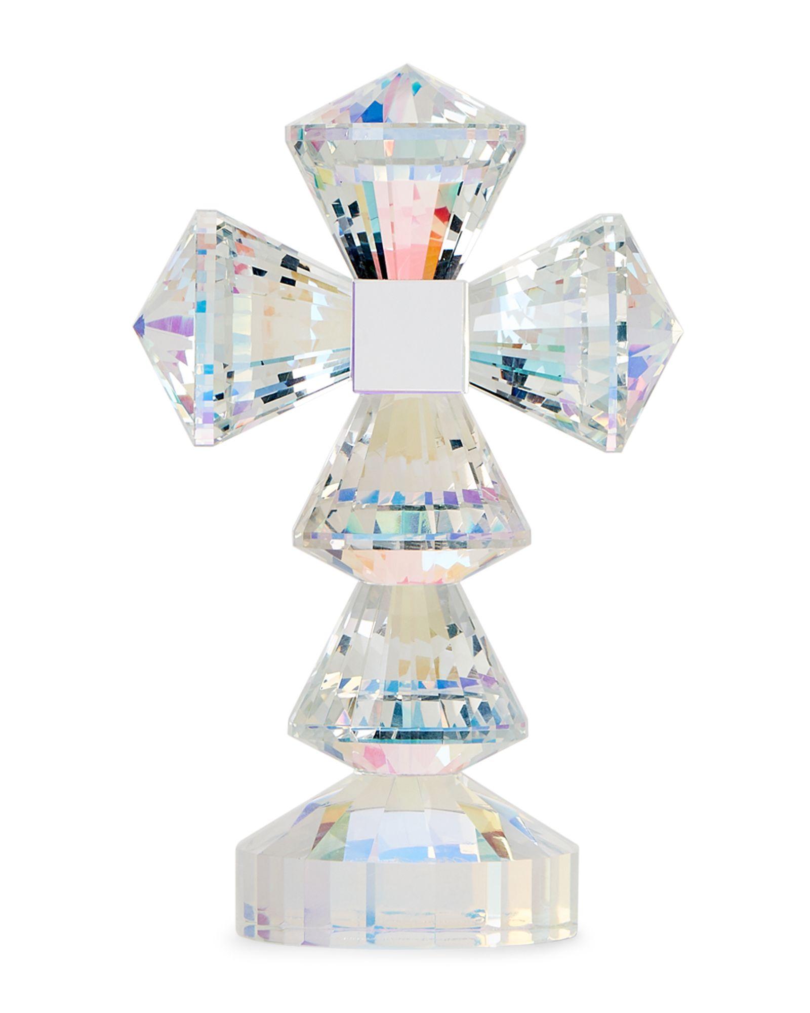 Oleg Cassini Crystal Gina Cross Home Garden Garden Crystals
