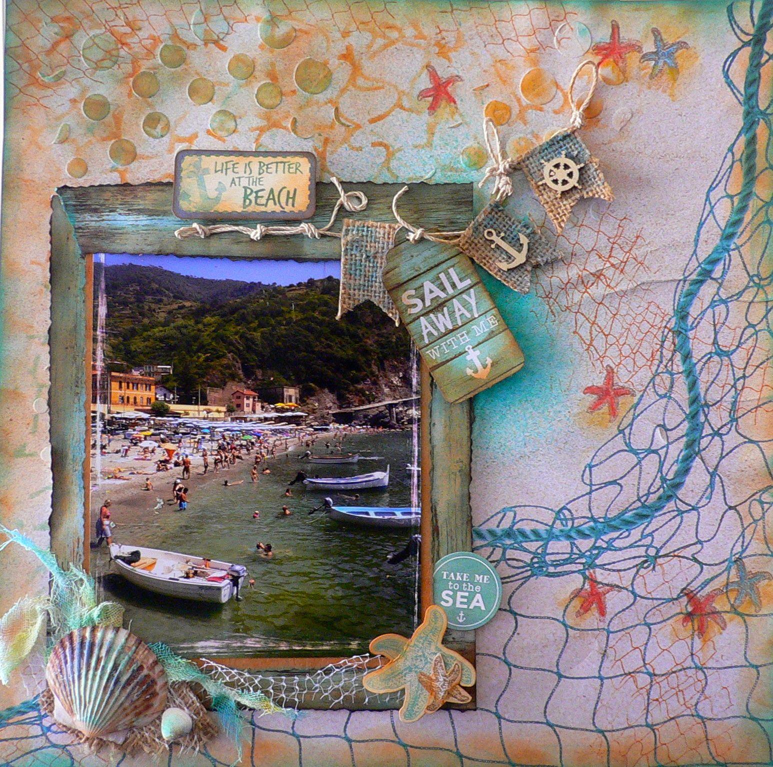 Sail+Away - Scrapbook.com