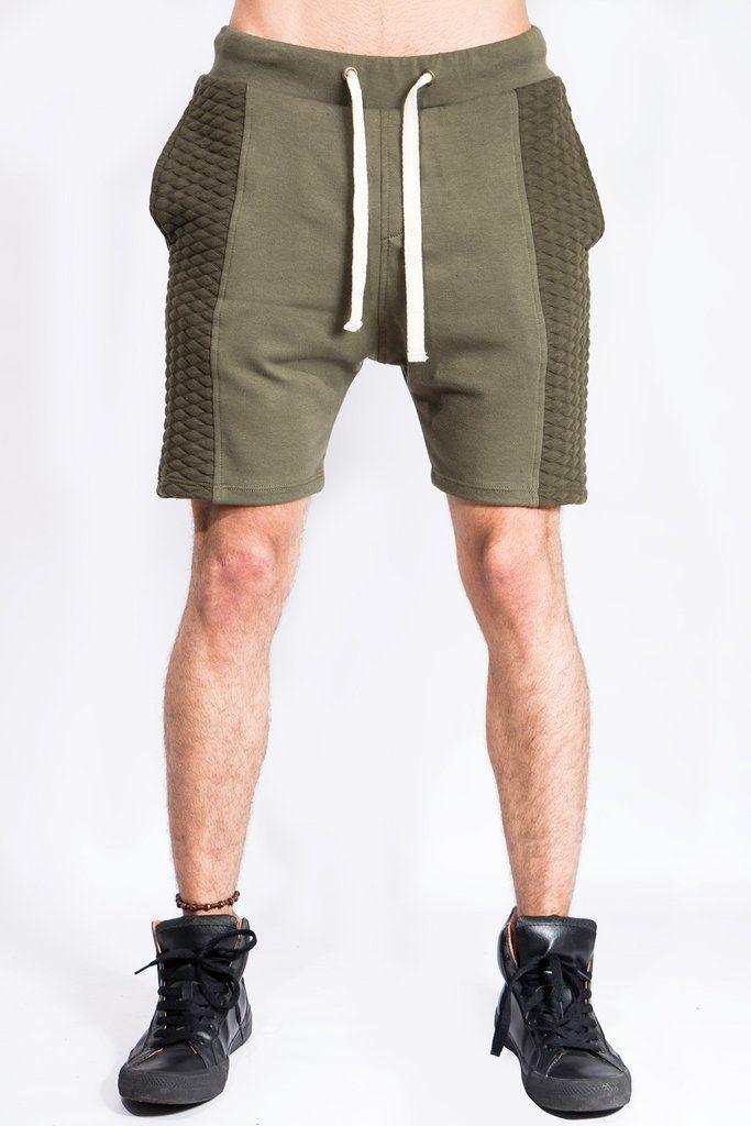 Pantalonetas Para Hombre Pantaloneta Perchada Verde