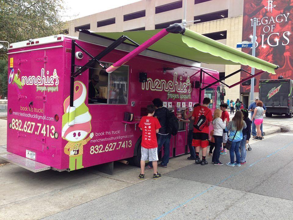 Menchie's Food Truck Menchies frozen yogurt, Frozen food