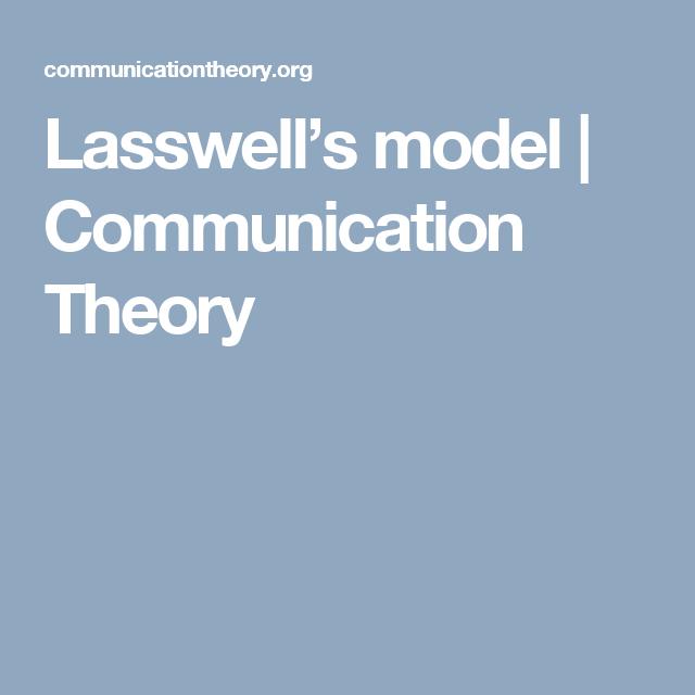 Lasswells model communication theory semiotics pinterest lasswells model communication theory ccuart Gallery