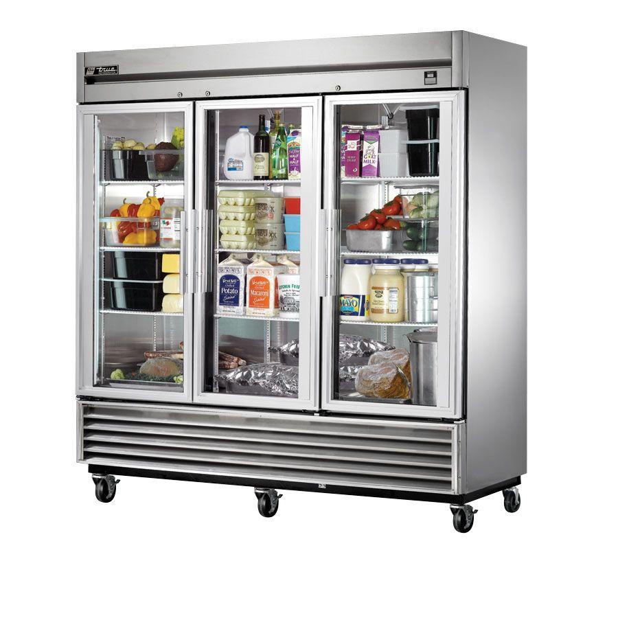 True Ts 72 G 78 Glass Door Reach In Refrigerator 3 Doors 300