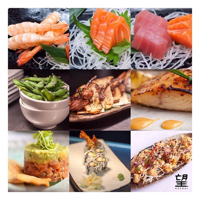 Even though #Nozomi serves contemporary #JapaneseCuisine, we still observe the unique sharing style of #eating which is #traditional to #Japan.  Here's our chef's recommendation for the perfect #Nozomi meal.  #NozomiMenu