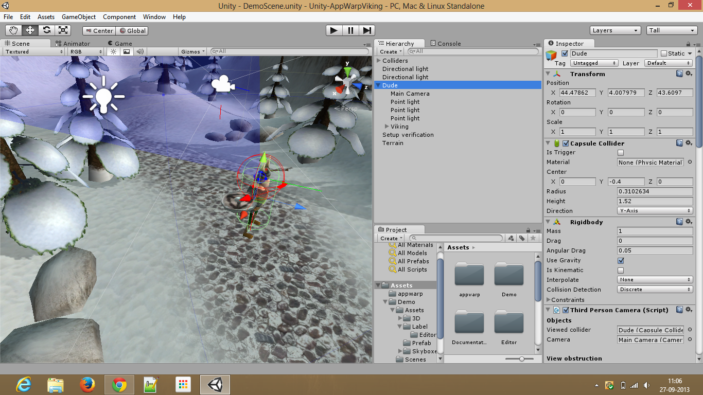 Multiplayer Unity Viking Demo with AppWarp  Game developers