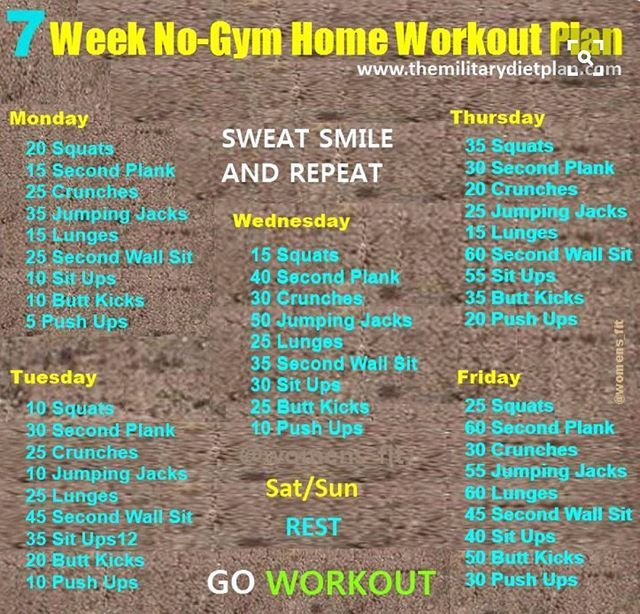 All about these home exercises Self love Pinterest Workout
