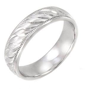 Brilliance Fine Jewelry Men S 6mm Sterling Silver Swirl Pattern Ring Mens Wedding Band Walmart Com Silver Rings Simple Rings Mens Wedding Bands Silver Swirl