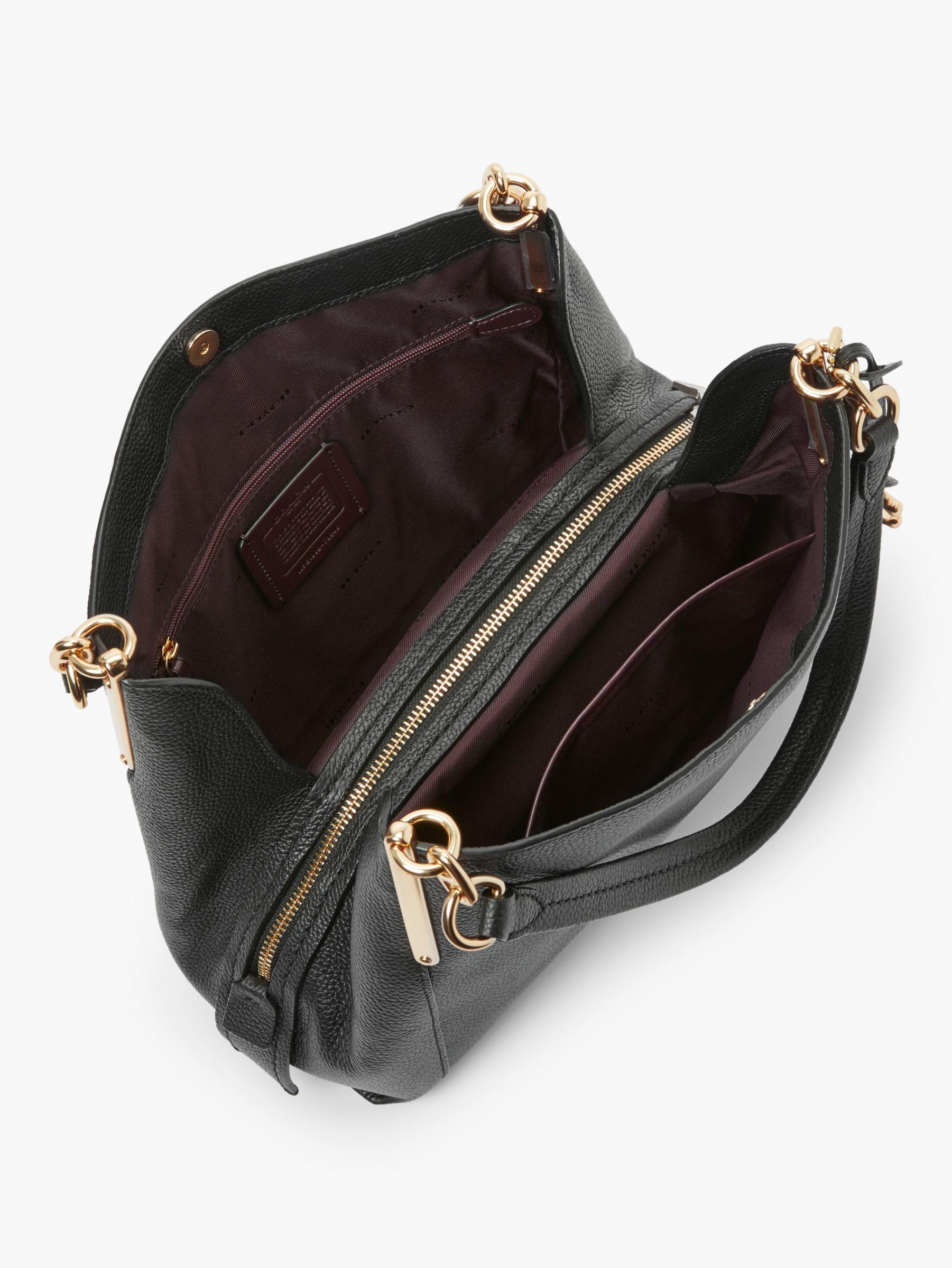 Coach Dalton 28 Leather Shoulder Bag Leather shoulder