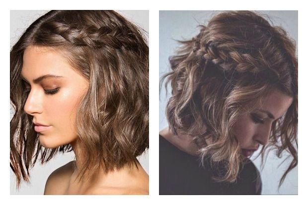 Peinados Con Trenzas Para Pelo Corto Peinadoscon Com Peinados