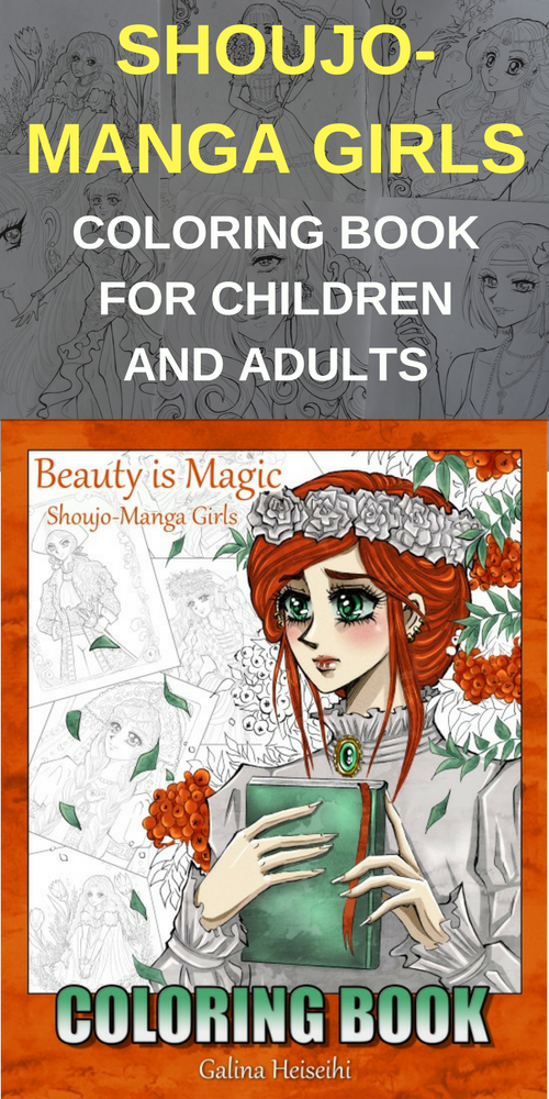 self-drawn and self-published coloring book for children and ...