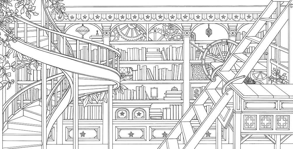 The Time Chamber: A Magical Story and Coloring Book (Time ...