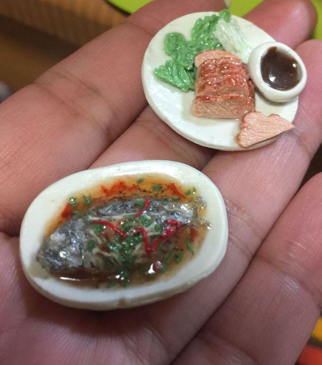 中華飯店 フルコース Eda Miniatyury
