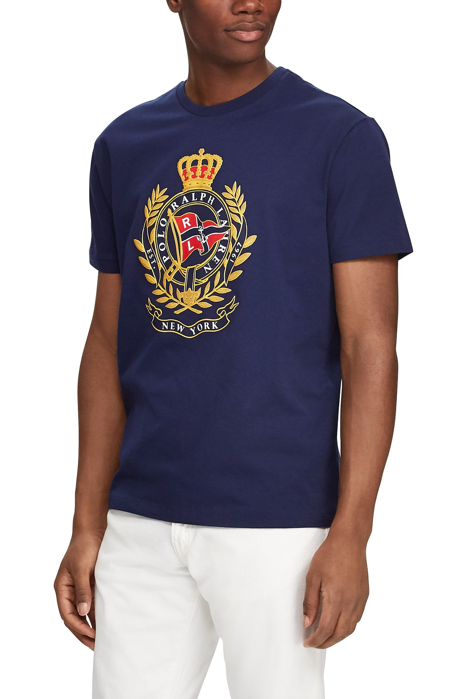 6bca2cac POLO RALPH LAUREN Classic Fit Cotton Graphic Tee | Menswear in 2019 ...