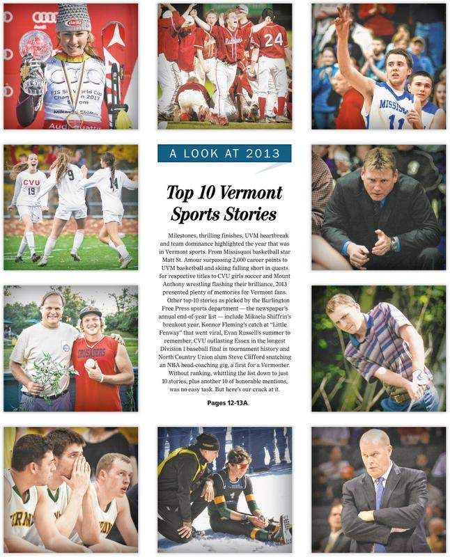 Top 10 Vermont Sports Stories of 2013