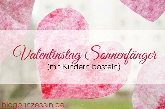Basteln · Valentinstag Sonnenfänger ...
