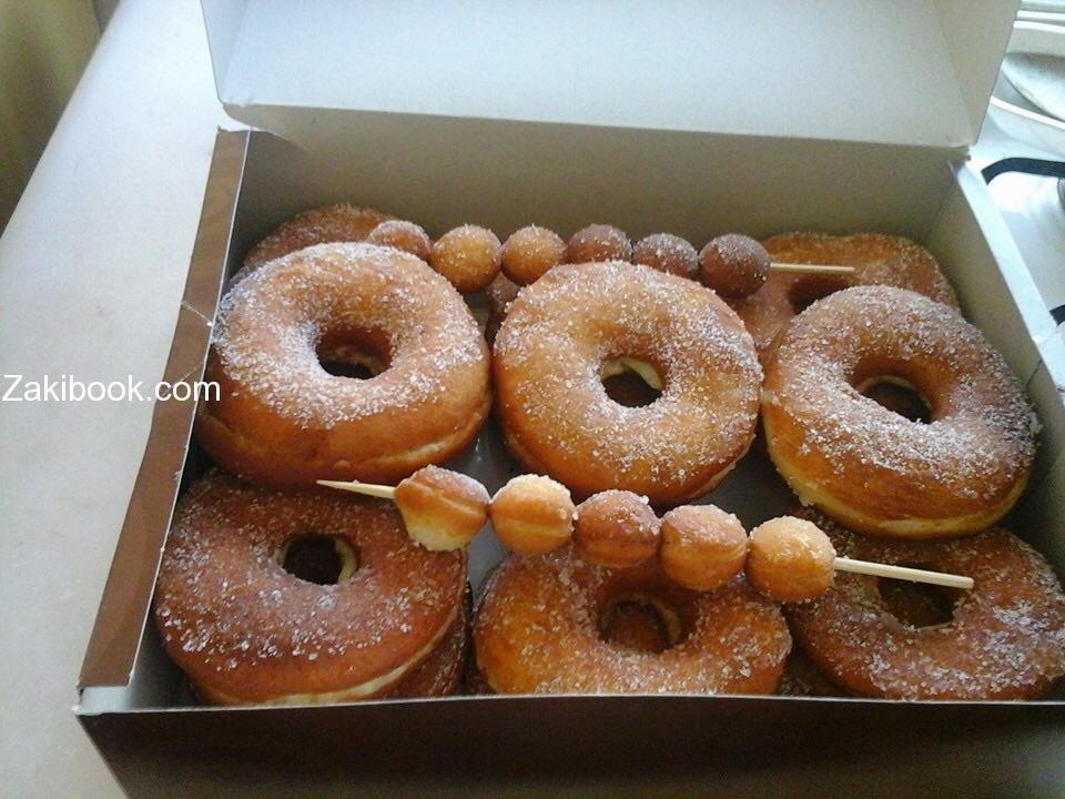 طريقة عمل الدونات المحشي زاكي Food Desserts Bagel