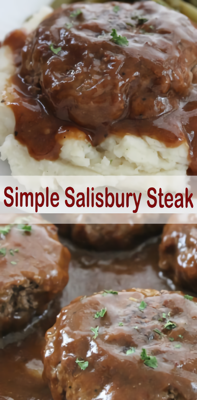 Simple Salisbury Steak #Salisbury #Steakrecipe images