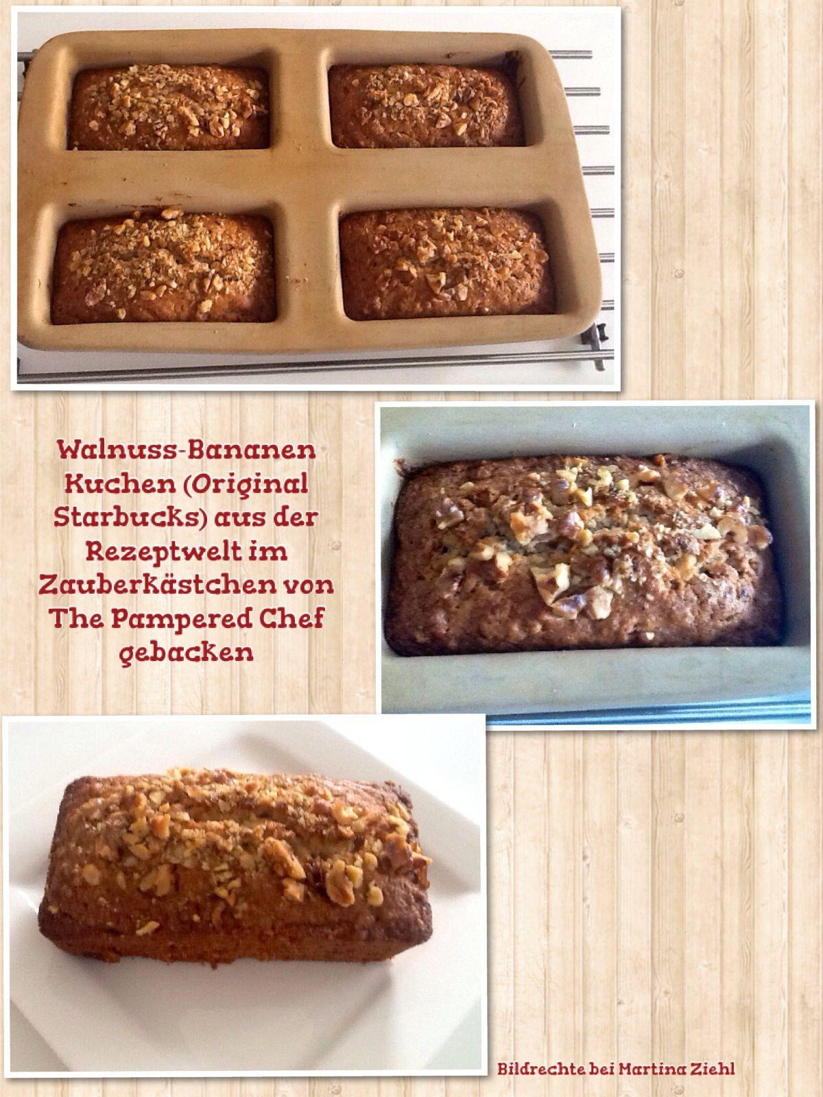 Gebacken Im Zauberkastchen Von The Pampered Chef Rezepte Backen Bananen Kuchen