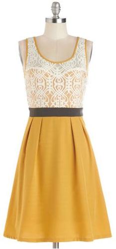 Mustard yellow bridesmaid dress option