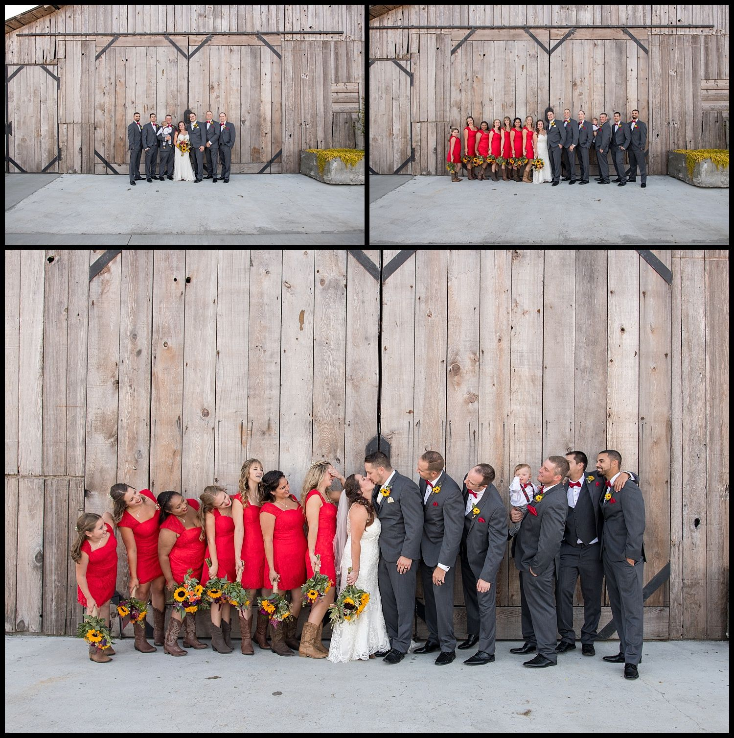 Perfect Shot Of The Whole Bridal Party For Our Amazing