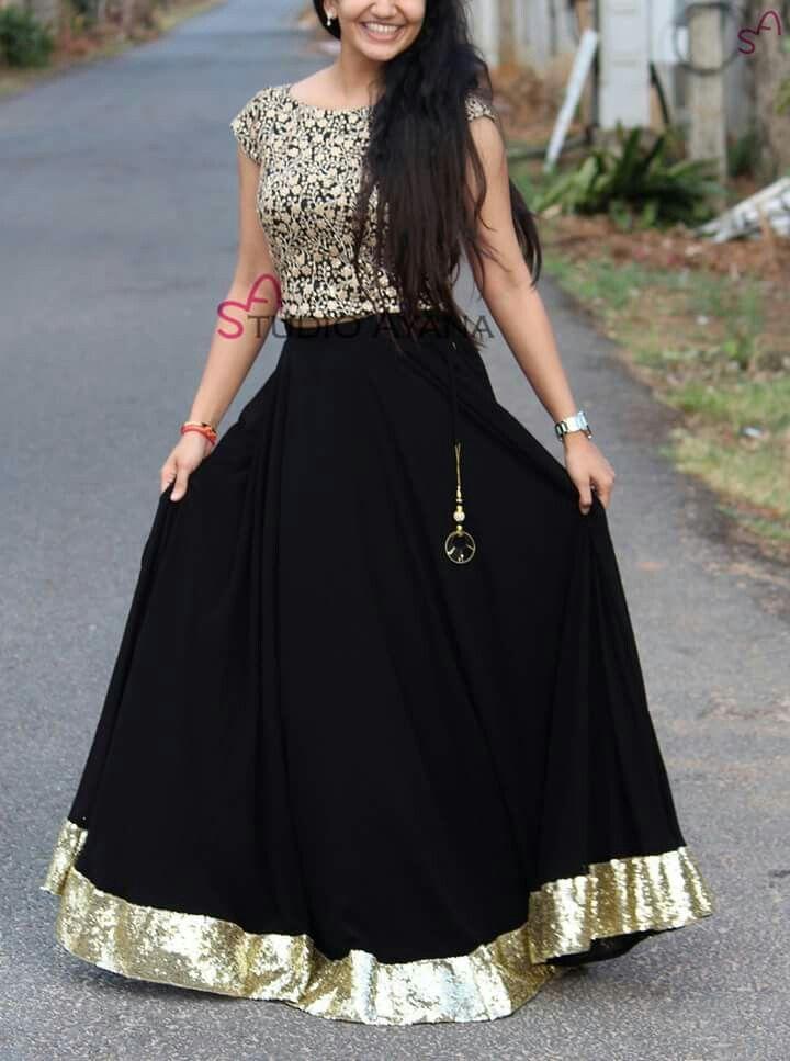 Black Glitter Studioayana Blackglitter In 2018 Pinterest Lehenga Dresses And Blouse