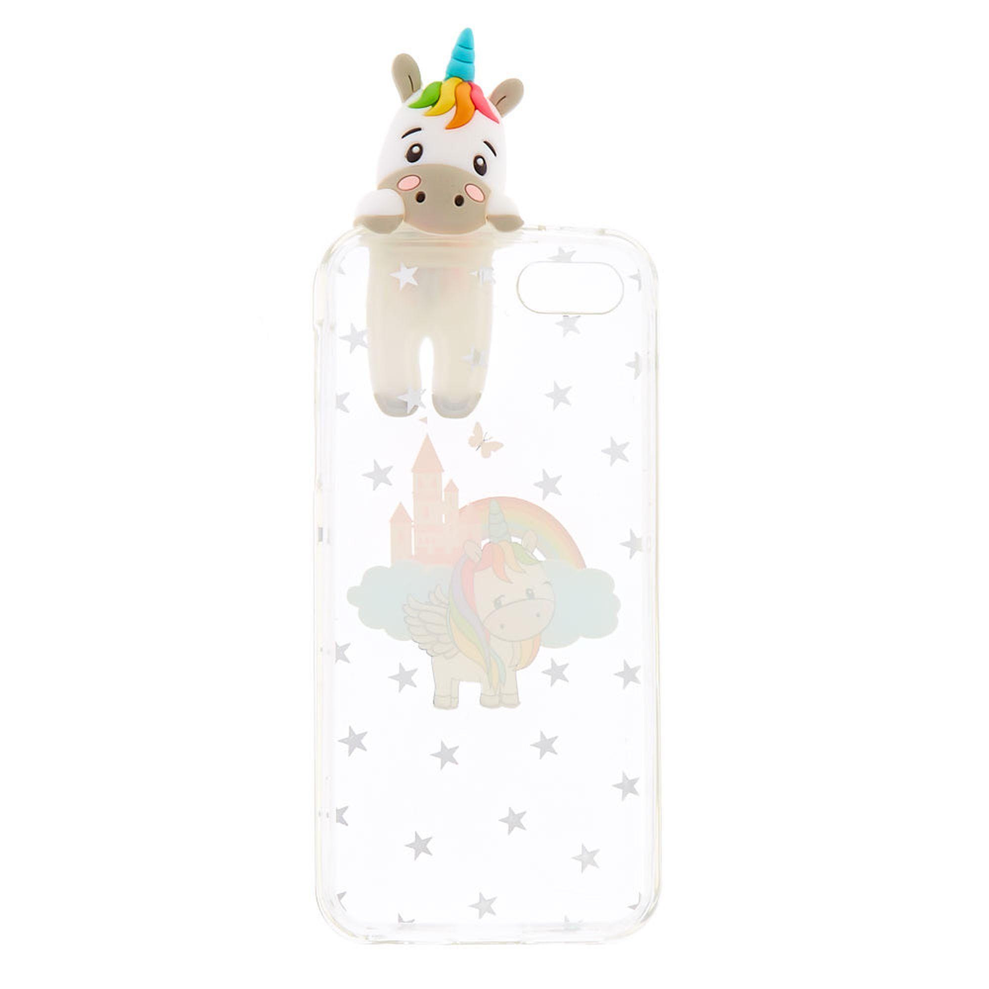 buy popular 7a175 e9e5b Peek A Boo Unicorn Phone Case | Claire's US | Technology in 2019 ...