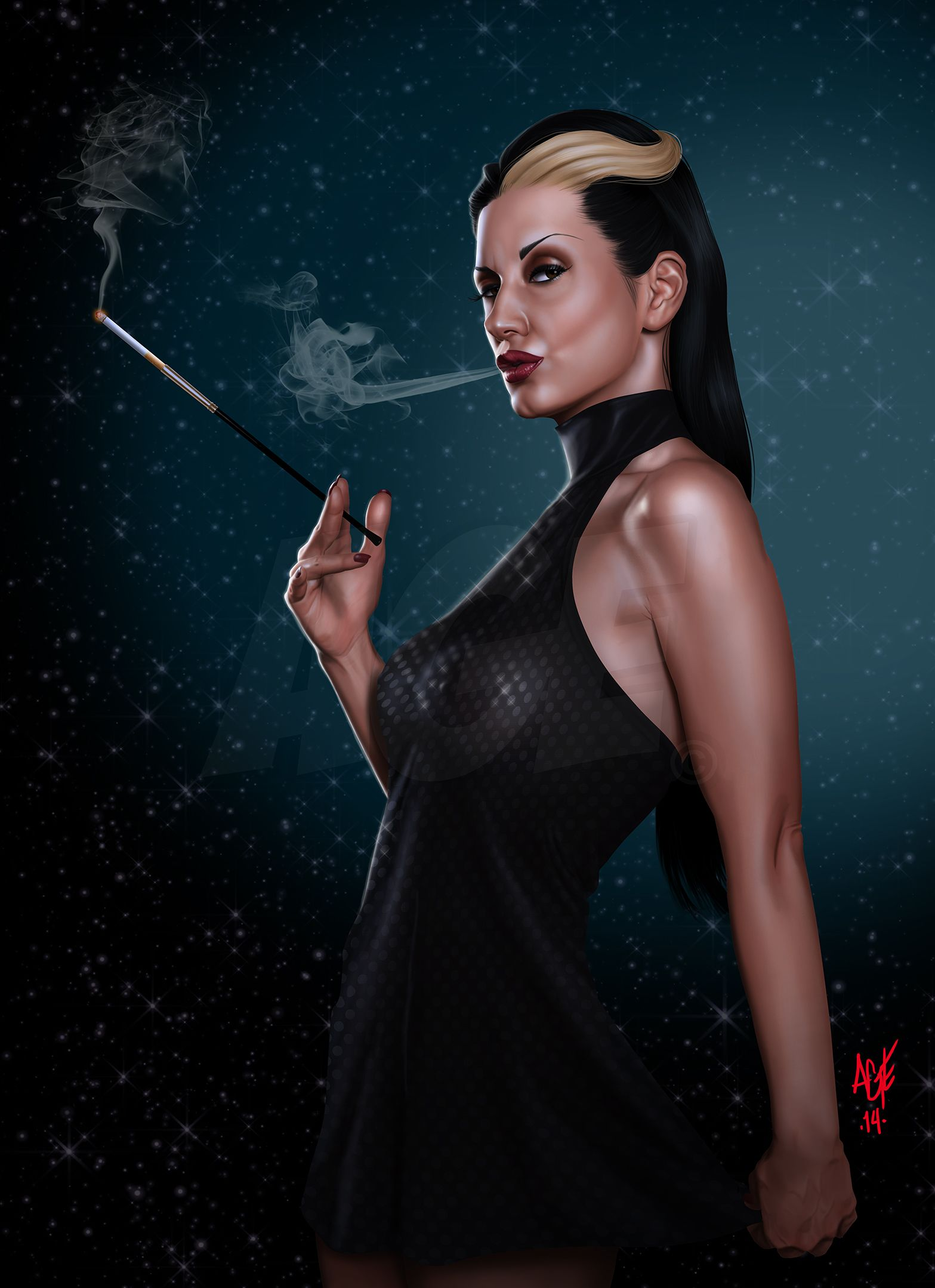 Smoking+by+Age-Velez.deviantart.com+on+@DeviantArt