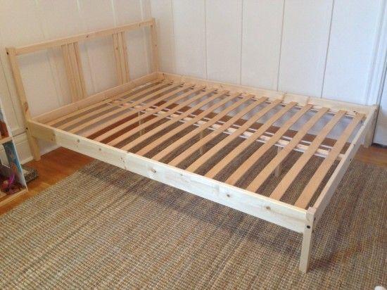 From Plain Ikea Fjellse Bed To Dreamy Princess Bed Ikea Hackers Bett