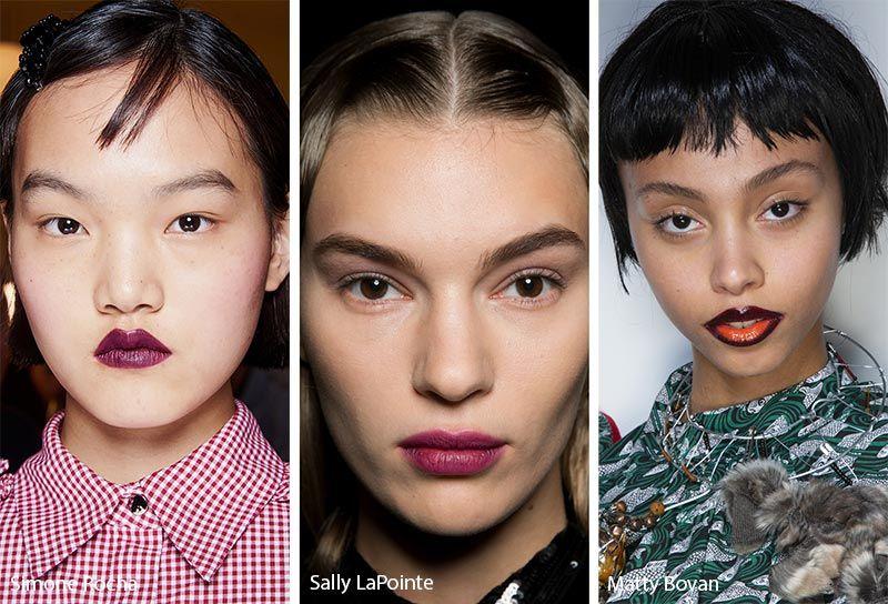 Fall Winter 2019 2020 Makeup Trends Makeup Trends Beauty