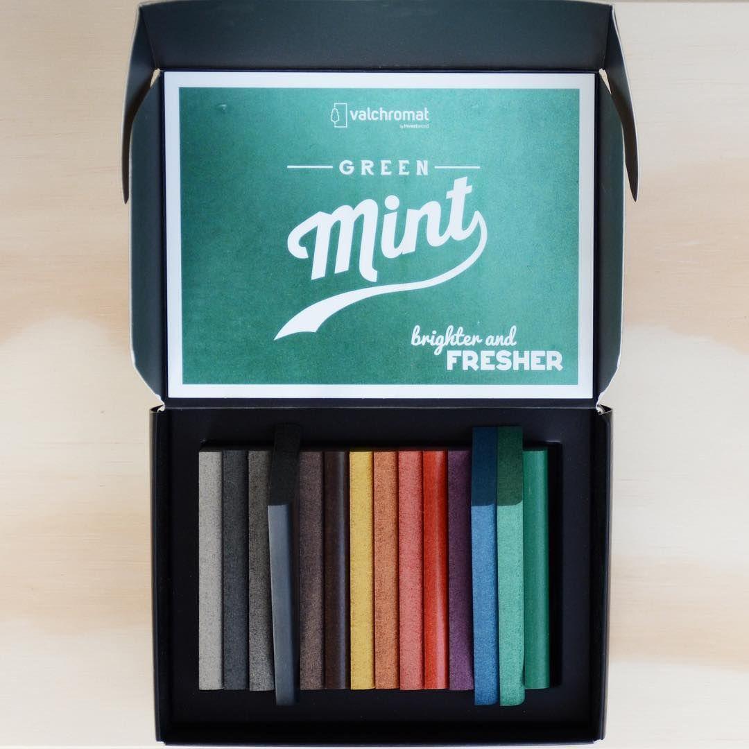 #InTheMailBox . Merci #Valchromat pour ce coffret coloré 💛 . Thanks Valchromat for this colorful box 💚