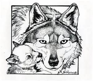 beautiful wolf coloring pages for adults bing images - Wolf Coloring Pages For Adults
