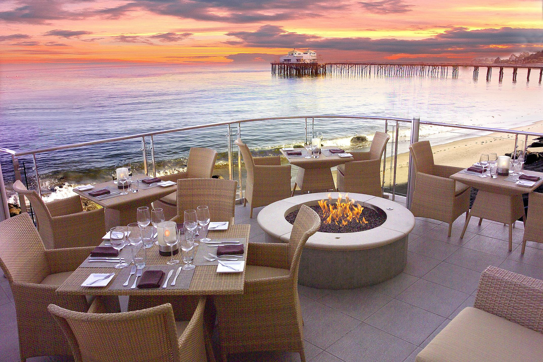The Best Outdoor Dining Restaurants In America According To Opentable Hotels In Malibu Malibu Restaurants Malibu Beaches
