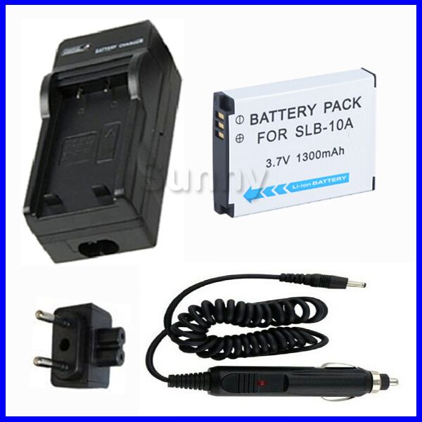 LCD Micro USB Battery Charger For Samsung SL720 SL820 Digital Camera
