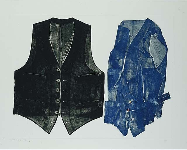 Betty Goodwin, Two Vests, 1972