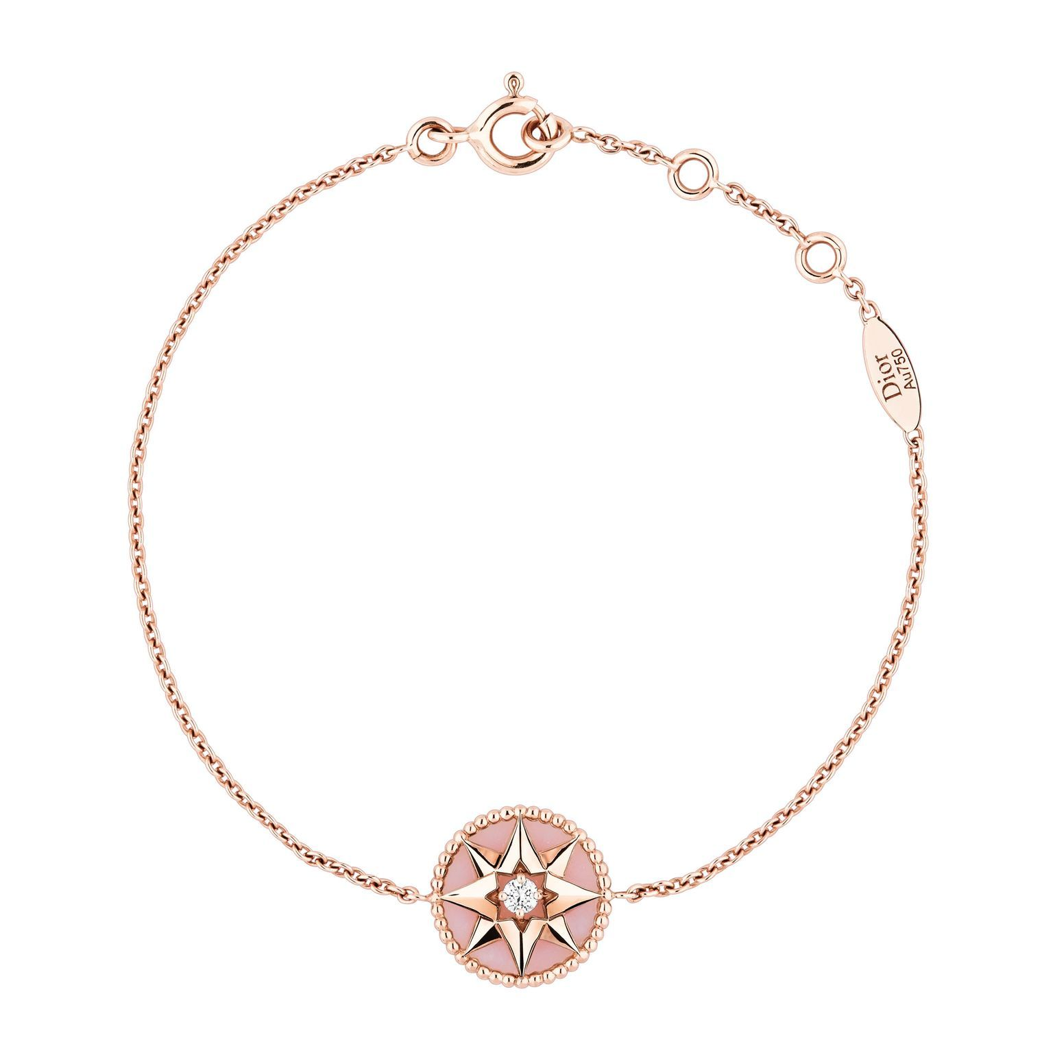 3aed1dce74 Rose des Vents pink opal and diamond bracelet in 2019 | JEWELRY ...