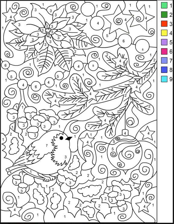 Varietats Christmas Coloring Pages By Nicoles