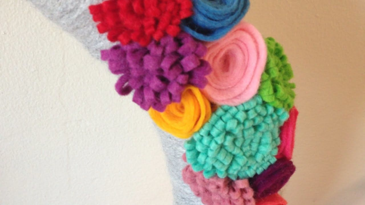 Make Simple Colorful Felt Flowers  - Crafts - Guidecentral