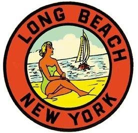 Santa Cruz CA     California     Vintage 1950/'s Style    Travel Sticker Decal