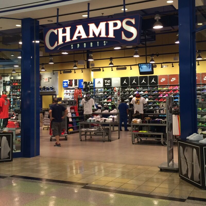 Champs Sports Champs, Mall stores, Sports