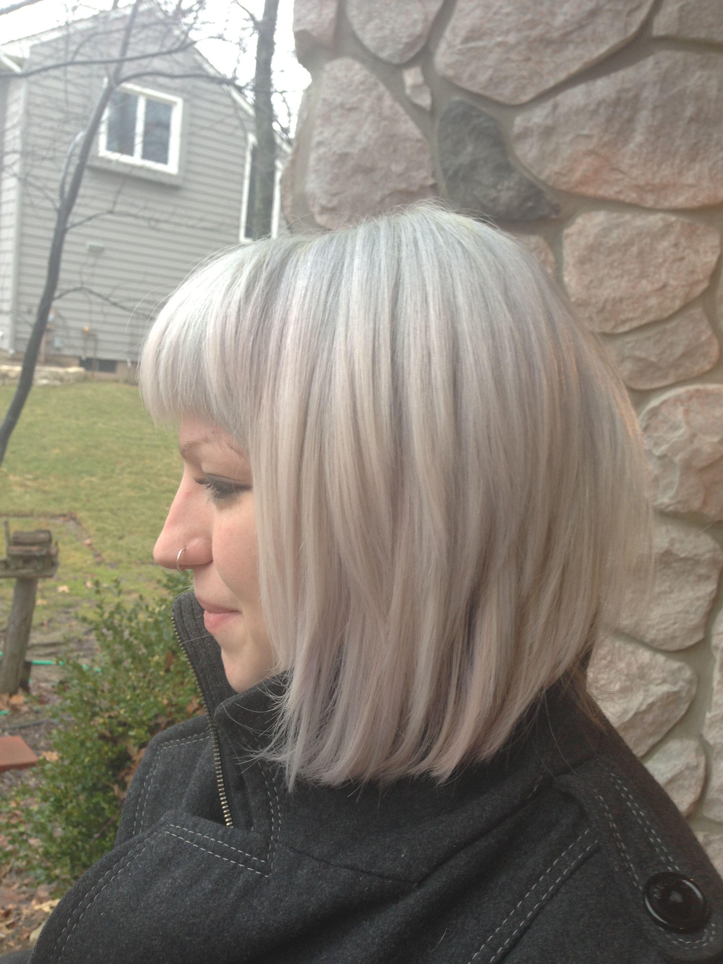 Ginger Hair Turned White Hair Turning White Beautiful Hair Long Hair Styles