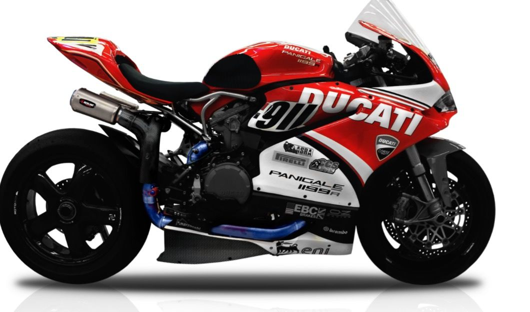 Ducati 1199r Panni with full redline system