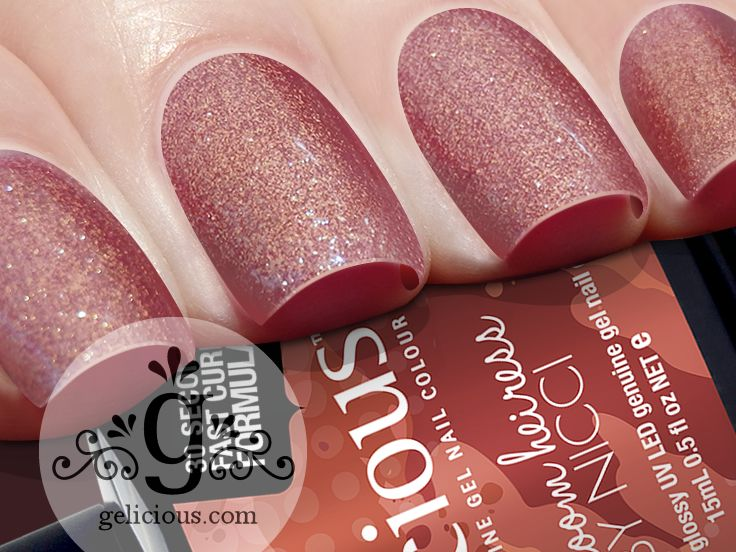 Gelicious Genuine Gel Nail Colour Heirloom Heiress By Nicci