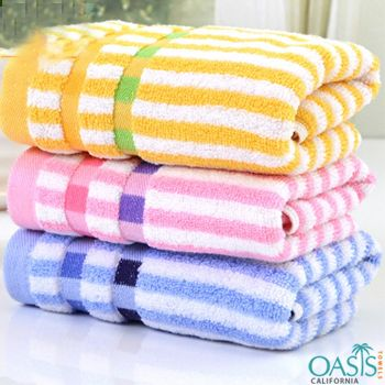 Hy Supplies Offers A Variety Of Quality Striped Pool Towels Of Various Types Sizes Grades Pools Salons