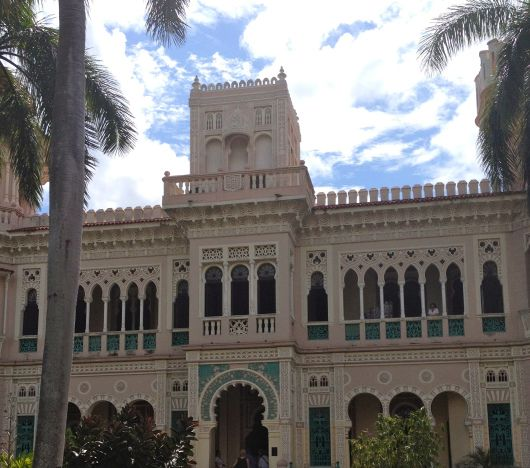 """The Palacio de Valle is located in Cienfuegos, the second largest harbor in Cuba.  Sometimes referred to at the """"Pearl of the South"""",  Cienfuegos was declared a UNESCO World Heritage Site in 2005 as a result of the blending of old world architecture and modern urban design."""