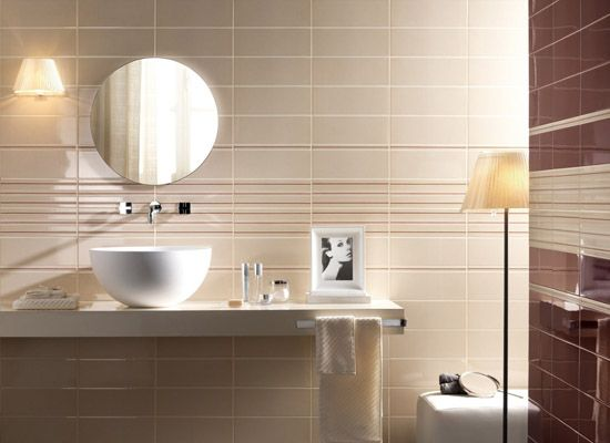 modern bathroom tile designs in monochromatic colors - Bathroom Tiles Color