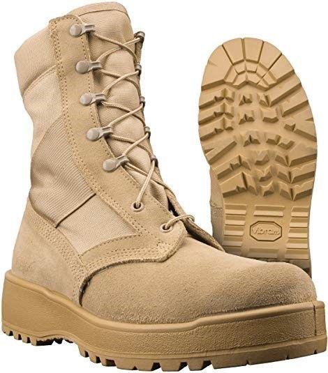 1eef4968c8da4 Vibram Sole Tan ARMY Desert Combat Boots Hot Weather Size 5N #VibramSole # Combat