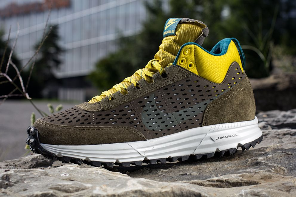 quality design 7a925 d7afb ... Nike Lunar LDV Trail Mid Dark Loden, Medium Olive Yellow ...