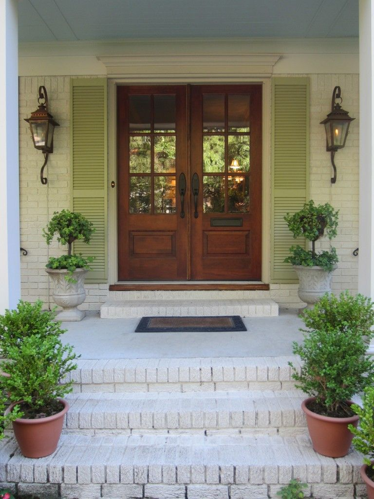 One of my favorite parts of the home is its facade the front of the