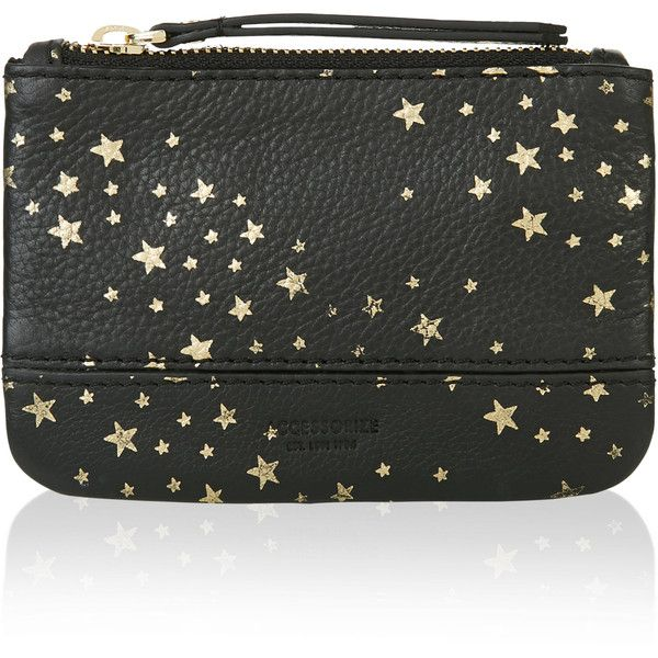 Accessorize Helena Galaxy Star Coin Purse 23 Liked On Polyvore Featuring Bags Wallets Planet Bags Change Purse Gal Coin Purse Wallet Coin Purse Purses